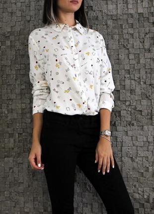 Очень красивая рубашка из вискозы