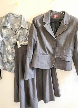 "Костюм 3 предмета - пиджак, юбка, блузка украина, ""весна"""