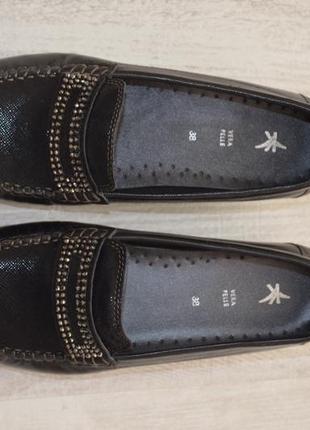 Туфли кожа, италия