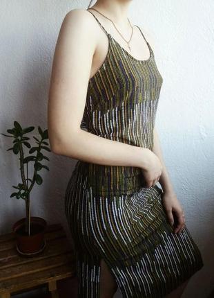 Платье миди  от h&m💔