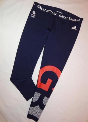 Крутые мужские спортивные лосины adidas ориганал. размер l, xl