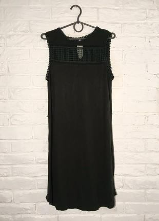 Распродажа летнего! темно-зеленое платье легкое платье размер на s/m