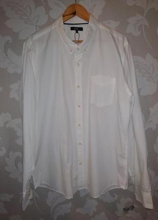 Шикарная белая рубашка easy