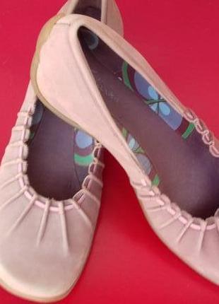 Туфли clarks натуральная кожа стелька 26 см