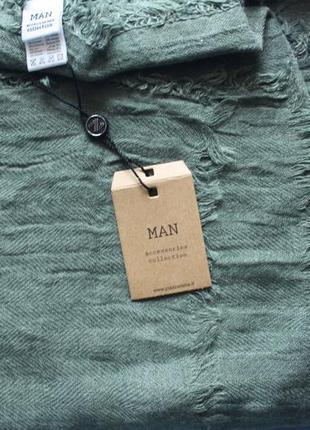 Продам шарф piazza italia 90 см /190 см бледно зеленый (травяной) новый