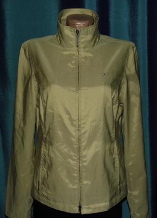 Новая женская куртка с отливом деми - tommy hilfiger -m/44-оригинал