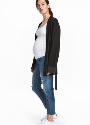 Джинсы для беременных h&m mama skinny оригинал европа швеция