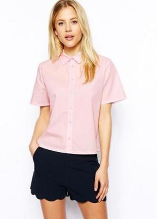 Hugo boss брендовая рубашка-блуза в полоску/// много интересного///
