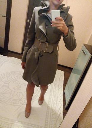 Пальто. кашемир 100%. производство турция