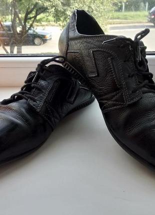 Кожаные мужские туфли, макасины