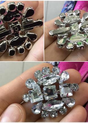 Как брошь или украшение кулон камни серебрянное