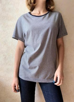 Базовая футболка хлопковая h&m