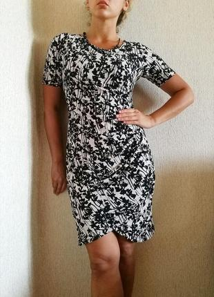 Платье миди s-m от бренда h&m