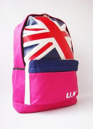 Стильный, тканевый рюкзак u.k.