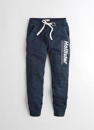 Hollister. сша. теплые мягкие спортивные штаны, на манжетах. джоггеры. флис.