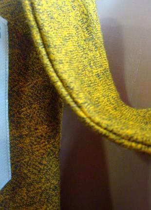Меланжевое платье - туника с красивой спинкой разрезиками по бокам. размер 18-223