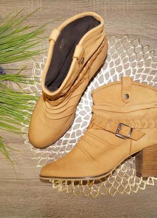 (41р./27см) manfield! кожа! комфортные красивые сапоги, ботинки, полусапожки