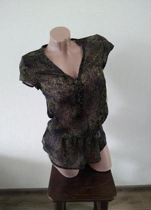 Блуза блузка майка футболка размер хс 6 gloria jeans