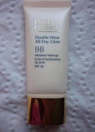 Увлажняющий тональный крем double wear bb all day glow сзф30