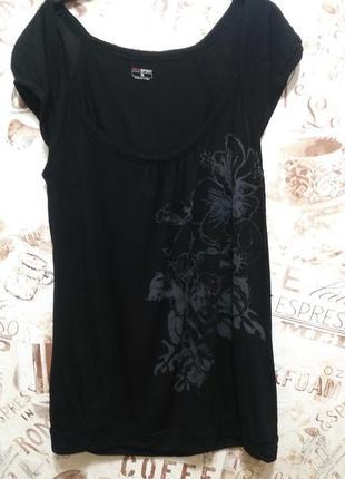 Натуральная футболка-блуза, модал!!