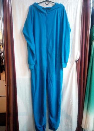 Домашний комбинезон пижама мужской размер м