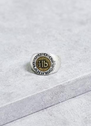 1+1=3 до 30/11 массивное серебристое кольцо icon brand benoit бижутерия asos