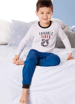 Акція! lupilu® піжама для хлопчиків, р. 86/92 (12-24 міс.)