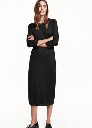 H&m платье , s, wool