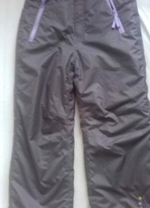 Лыжные термо штаны y.f.k р.136/140