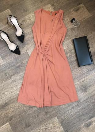 Платье миди от mango в идеальном состоянии