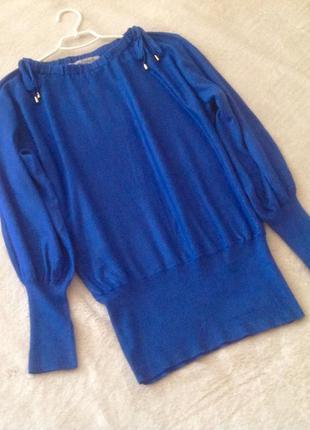 Синий свитер от ashley brooke