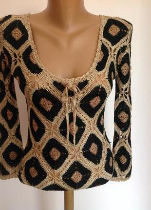 Вязанная блуза /s/ brend morgan