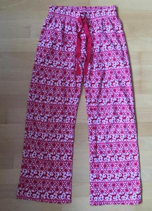 Штаны пижамные для дома тёплые new look