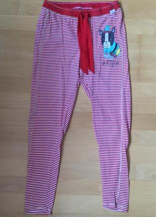 Штаны пижамные для дома тёплые