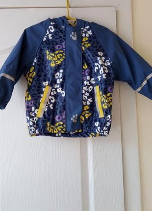 Курточка на флисе на девочку 86-92 см германия