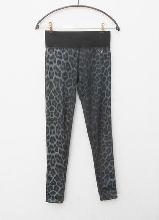 Длинные спортивные лосины леггинсы женская спортивная одежда