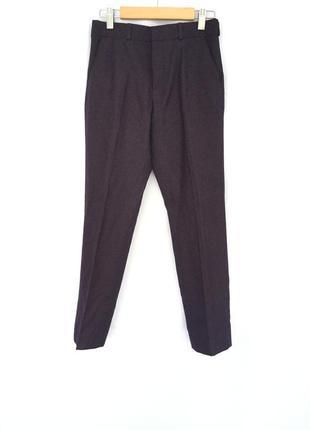 Школьная форма / брюки со стрелками/темно фиолетовые штаны в школу