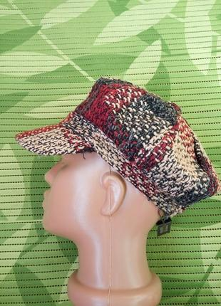 Меланжевая кепка / шляпка/ берет xs/s4