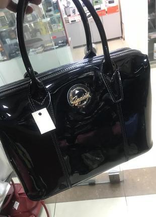 Кожаная сумка сумка кожаная лаковая