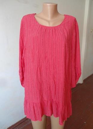 Очень красивая блуза! размер 52