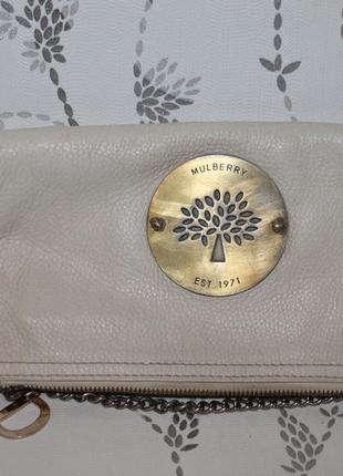 Кожаная сумка mulberry серийный № 373140