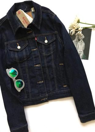 Levis джинсовка/trucker jacket/джинсовая куртка