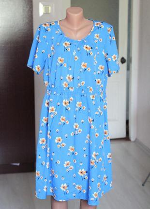 Платье для беременных 18 46 размер летнее платье в цветы new look