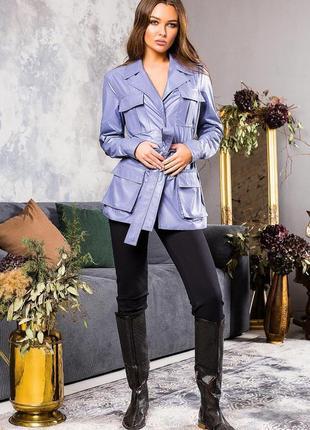 Шикарная куртка - ветровка в спортивном стиле  санта р. м 42-44