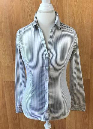 Рубашка блуза в полоску h&m