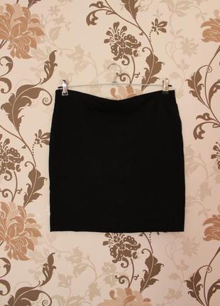 H&m basic трикотажная базовая юбочка