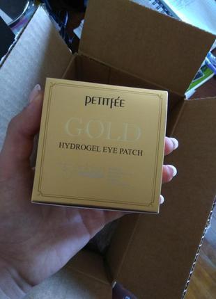 Патчи для глаз с золотым гидрогелем, 60 шт  petitfee от iherb