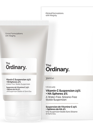 The ordinary - vitamin c suspension 23% + ha spheres 2%2 фото