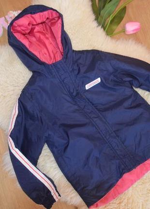 Классная деми куртка для девочки reebok
