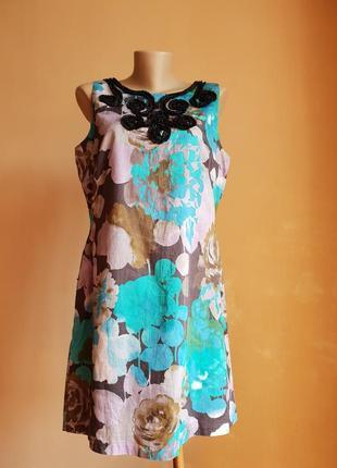 Роскошное платье хлопок monsoon британия